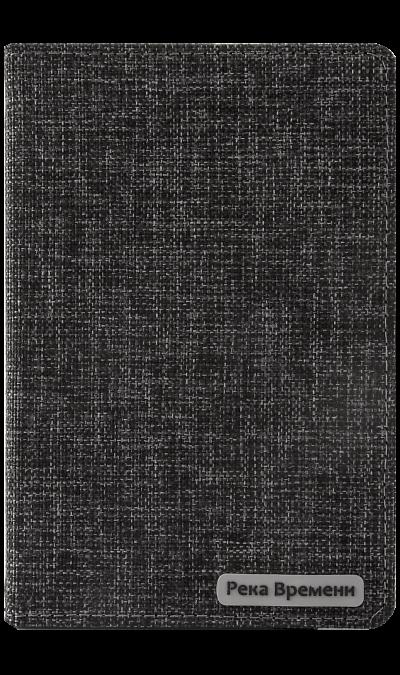 Чехол-книжка СФМ Река Времени универсальный 7 , ткань, черныйЧехлы и сумочки<br>Универсальный чехол-книжка для устройств с высотой до 137 мм, шириной до 203 мм и толщиной до 15 мм. Придаст индивидуальность вашему планшету и защитит его от царапин и потертостей. Крепление PVS позволяет надежно зафиксировать устройство.<br><br>Colour: Черный