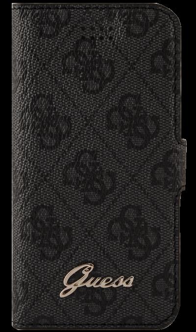 Чехол-книжка Guess универсальный 4.0-4.5, кожзам / пластик, серыйЧехлы и сумочки<br>Чехол Guess поможет не только защитить ваш смартфон от повреждений, но и сделает обращение с ним более удобным, а сам аппарат будет выглядеть еще более элегантным. Способ крепления - поворотный механизм на клейкой основе.<br><br>Colour: Серый