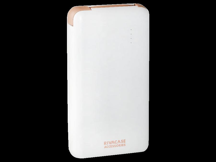 Аккумулятор RIVACASE VA2008, Li-Pol, 8000 мАч, белый (портативный)