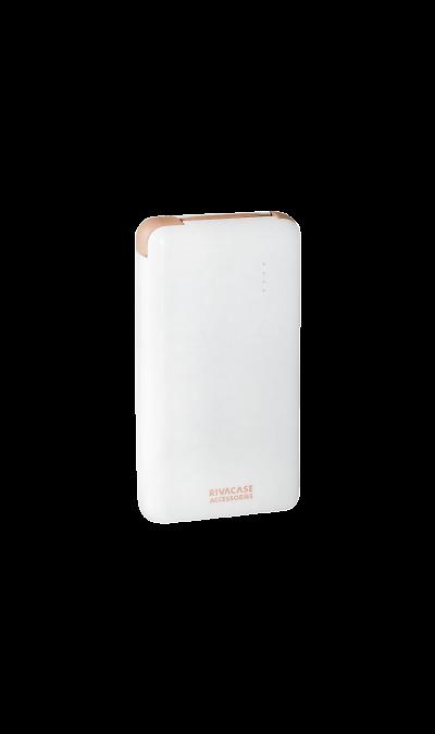 Аккумулятор RIVACASE VA2008, Li-Pol, 8000 мАч, белый (портативный)Аккумуляторы внешние<br>Резервный аккумулятор RIVACASE - устройство, предназначенное для зарядки портативных устройств без помощи электрической сети. Особенно актуален для путешественников и туристов в местах, где невозможен или ограничен доступ к электроэнергии. Резервный аккумулятор RIVACASE подходит для портативных устройств, таких как смартфоны, планшеты, мобильные телефоны и МР3-плееры.<br>Для зарядки устройств Apple необходимо использовать кабель идущий в комплекте с телефоном.<br><br>Colour: Белый