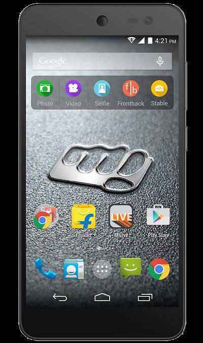 Micromax E313 Canvas Xpress 2Смартфоны<br>2G, 3G, Wi-Fi; ОС Android; Дисплей сенсорный емкостный 16,7 млн цв. 5; Камера 13 Mpix, AF; Разъем для карт памяти; MP3, FM,  GPS; Время работы 393 ч. / 9.5 ч.; Вес 135 г.<br><br>Colour: Черный