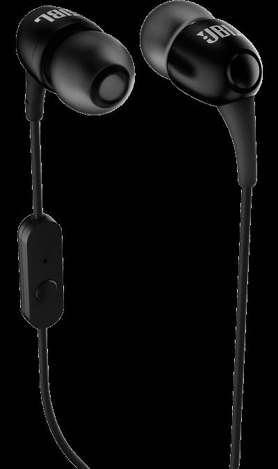 Проводная гарнитура JBL T150A, стерео (черная)