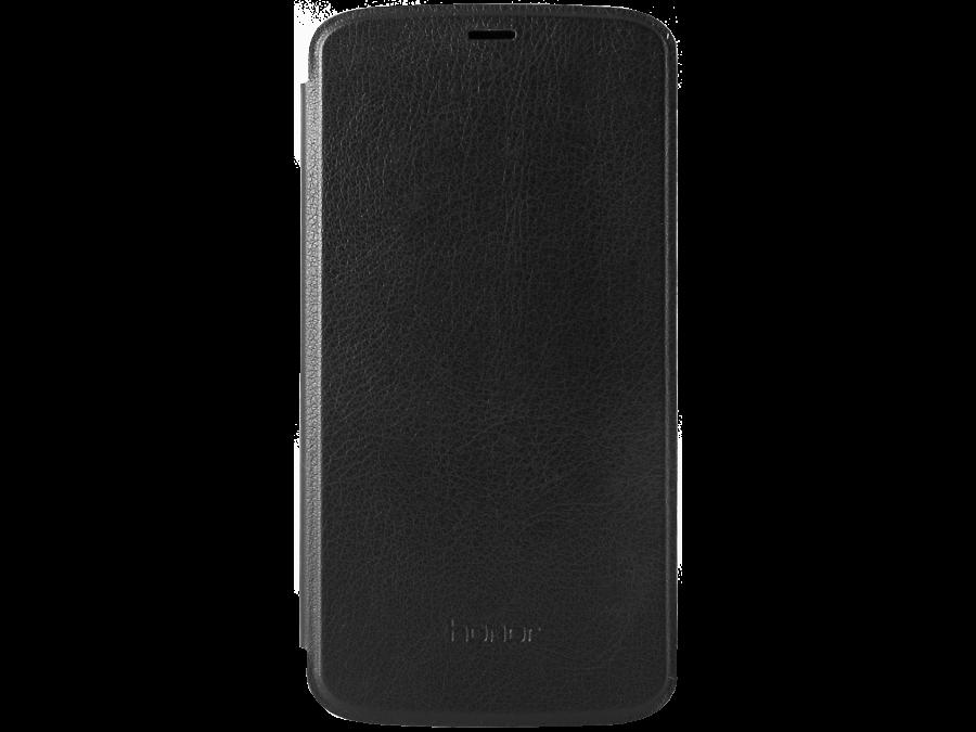 Чехол-книжка Huawei для Honor 3C, кожа, черный