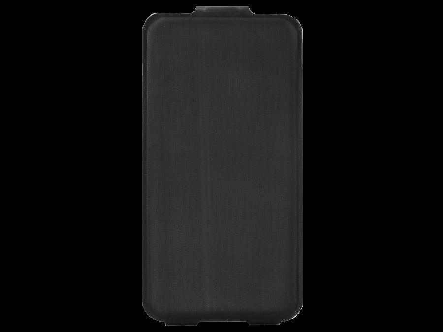 Чехол-книжка Марка для Micromax Q415 вертикальный, полиуретан, черный