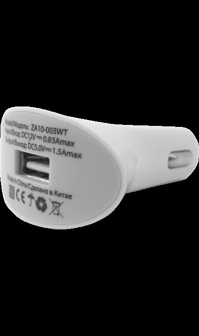 Зарядное устройство автомобильное Continent (с разъемом USB)Зарядные устройства<br>Автомобильное зарядное устройство с разъемом USB.<br>