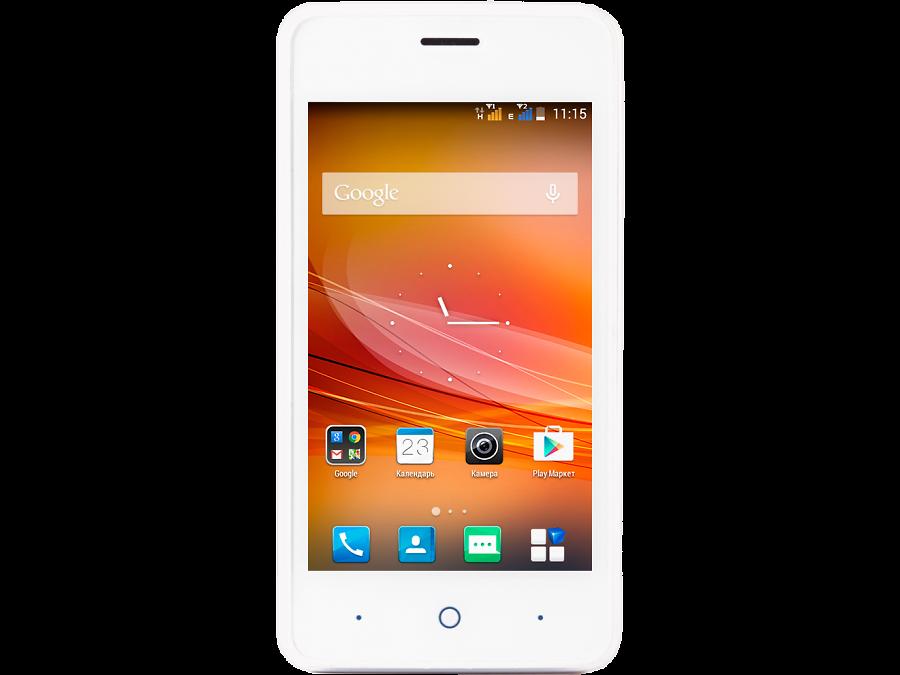 Школьный комплект: смартфон ZTE Blade A5 White + бонус 300 на счет