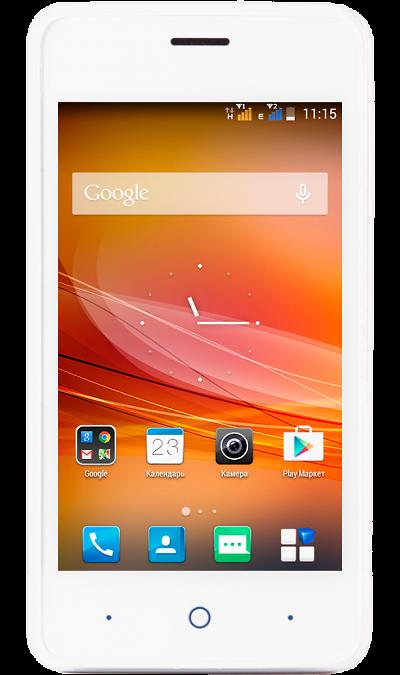 Школьный комплект: смартфон ZTE Blade A5 White + бонус 300 на счетСмартфоны<br><br>