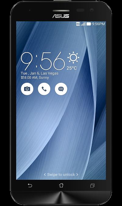 ASUS Zenfone 2 Lazer ZE500KL 16GbСмартфоны<br>2G, 3G, 4G, Wi-Fi; ОС Android; Дисплей сенсорный 16,7 млн цв. 5; Камера 13 Mpix, AF; Разъем для карт памяти; MP3, FM,  GPS / ГЛОНАСС; Вес 146 г.<br><br>Colour: Серебристый