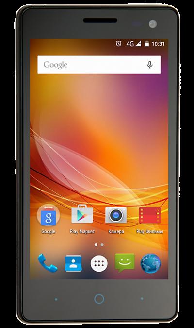 ZTE Blade GF3 BlackСмартфоны<br>2G, 3G, Wi-Fi; ОС Android; Дисплей сенсорный емкостный 16,7 млн цв. 4.5; Камера 8 Mpix, AF; Разъем для карт памяти; MP3, FM,  GPS; Вес 142 г.<br><br>Colour: Черный