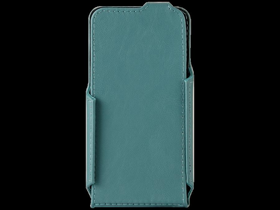 Чехол-книжка ONZOZONE для Micromax D303, кожзам, зеленый