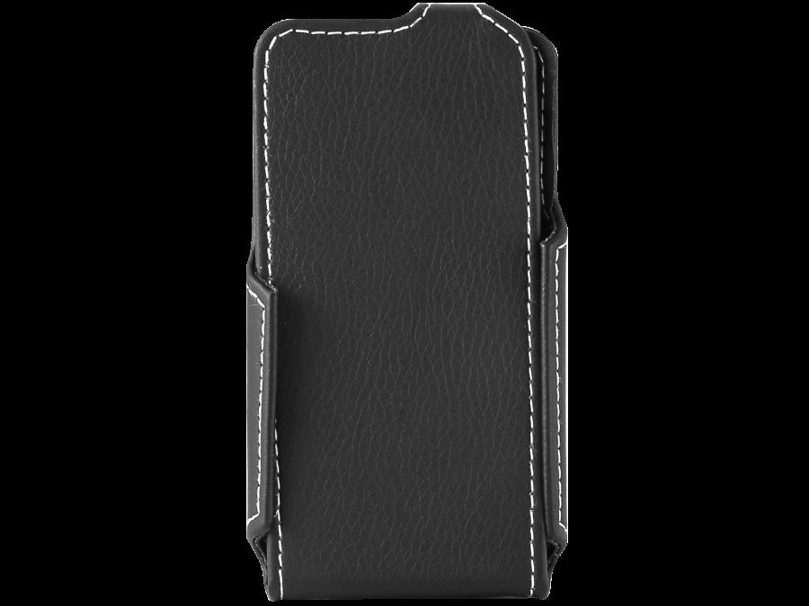 Чехол-книжка ONZOZONE для Micromax D303, кожзам, черный