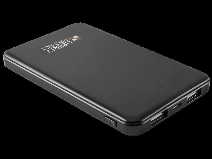 Аккумулятор Liberty Project, Li-Pol, 5000 мАч, черный (портативный)