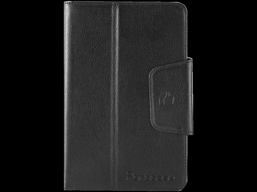 PortCase Чехол-книжка PortCase TBL-367 универсальный 7, кожзам, черный смартфон meizu m5 note m621h 16gb серый