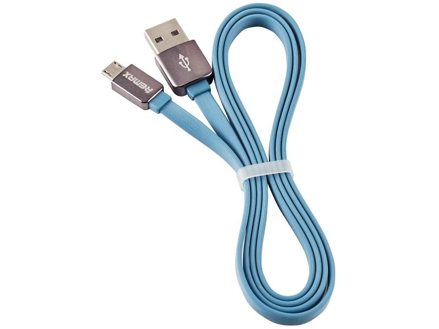 Кабель Remax 151 синий (USB-microUSB)