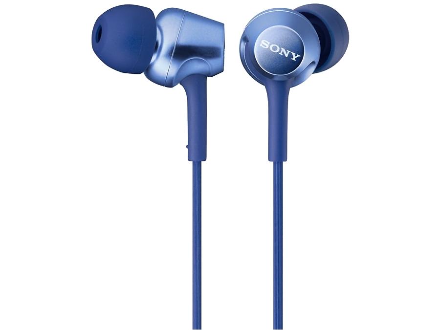Наушники Sony MDR-EX150, стерео (синие)