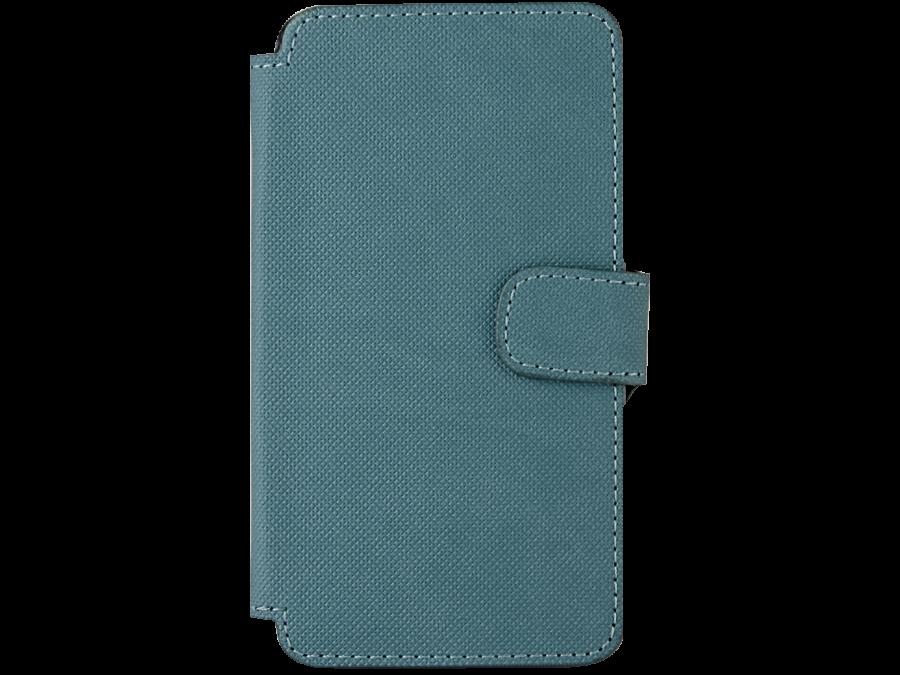 Чехол-книжка OxyFashion для ZTE Blade A5 рубчик, кожзам, зеленый
