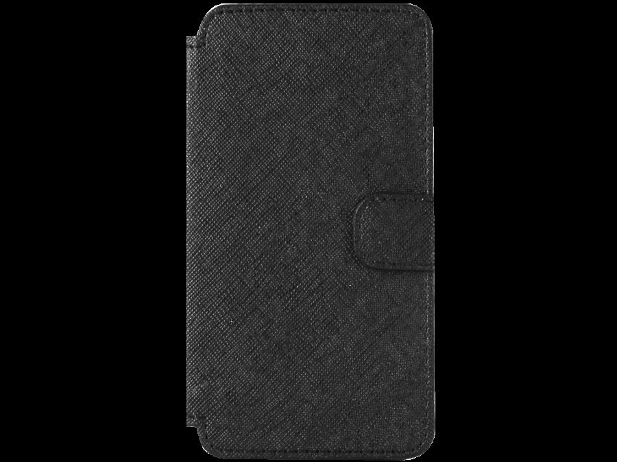 Чехол-книжка OxyFashion для ZTE Blade A5 рубчик, кожзам, черный