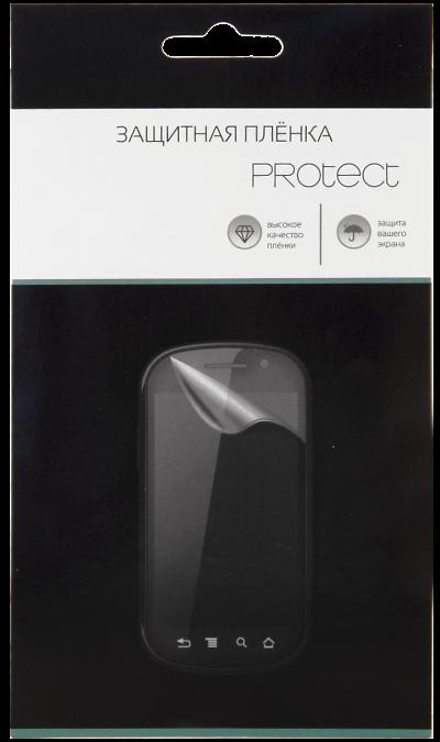 Защитная пленка Protect для Samsung Galaxy Core 2 Dual (прозрачная)Защитные стекла и пленки<br>Качественная защитная пленка прекрасно защищает дисплей от царапин и других следов механического воздействия. Она не содержит клеевого слоя и крепится на дисплей благодаря эффекту электростатического притяжения.<br>