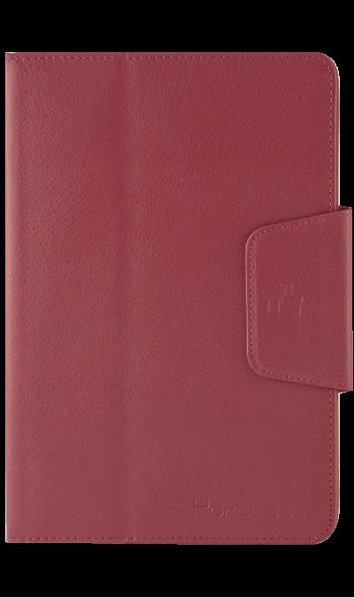 Чехол-книжка PortCase универсальный 8, кожзам / пластик, красныйЧехлы и сумочки<br>Чехол поможет защитить ваш планшет от повреждений.<br><br>Colour: Красный