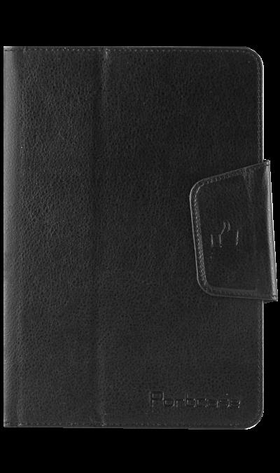 PortCase Чехол-книжка PortCase универсальный 8, кожзам / пластик, черный interstep чехол книжка vels p8m планшет 8 8 5 экокожа black