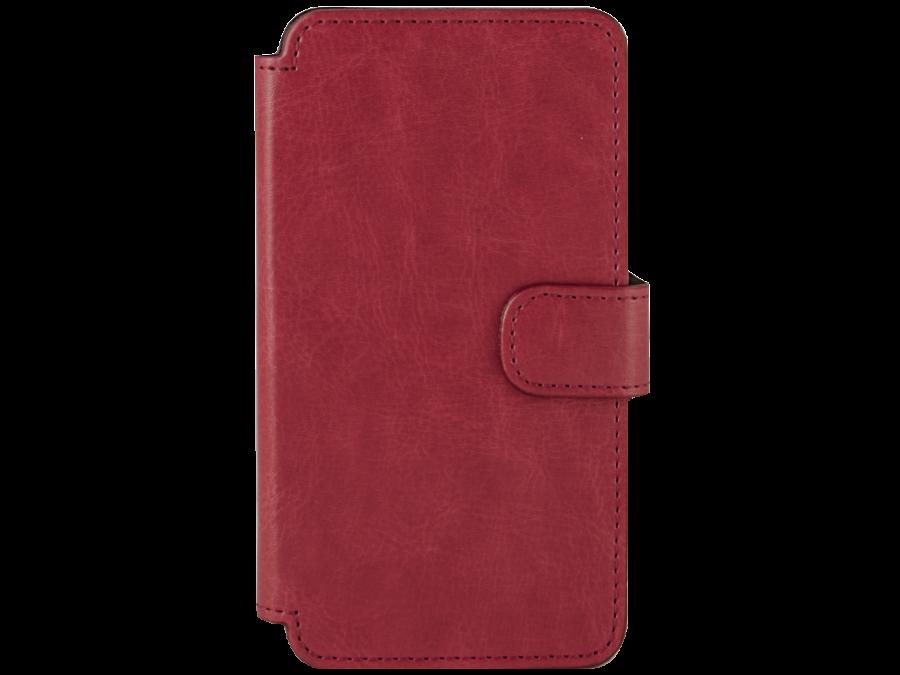 Чехол-книжка OxyFashion для ZTE Blade A5, кожзам, красный