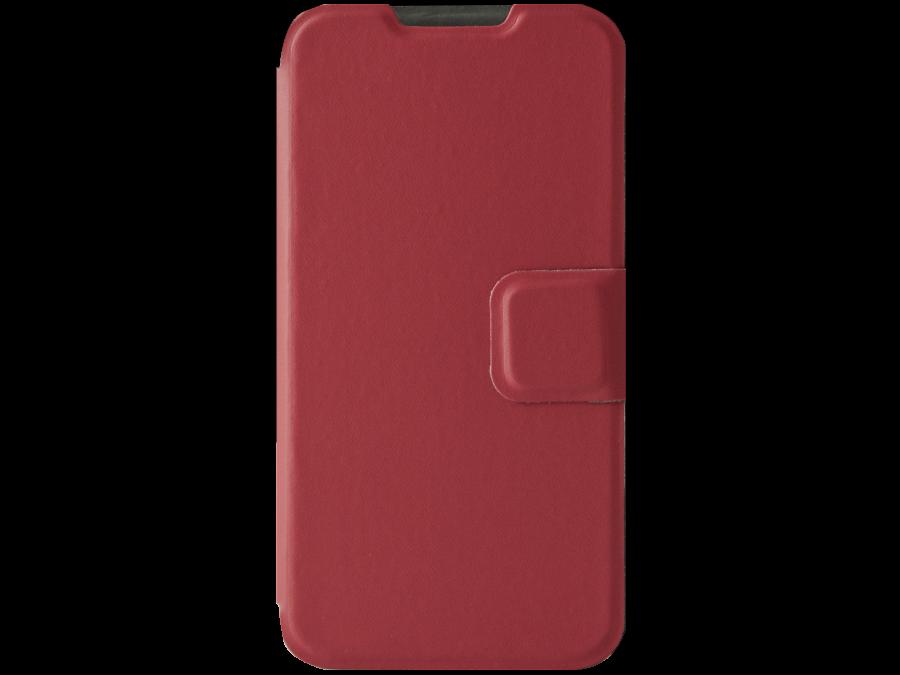 Чехол-книжка Micromax для BOLT D303, кожзам, красный (оригинальный)
