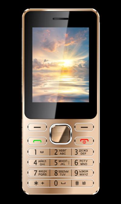 VERTEX D508Телефоны<br>2G; Дисплей 65,5 тыс цв. 2.4; Камера 0.3 Mpix; Разъем для карт памяти; MP3, FM; Время работы 170 ч. / 6.0 ч.; Вес 92 г.<br><br>Colour: Золотистый