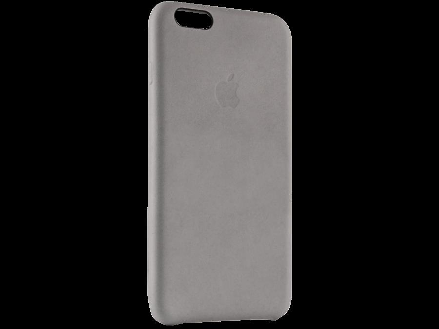 Чехол-крышка Apple для Apple iPhone 6S Plus, кожа, серый