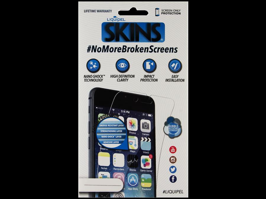 Защитная пленка Liquipel ударопрочная для Apple iPhone 6 Plus (прозрачная)