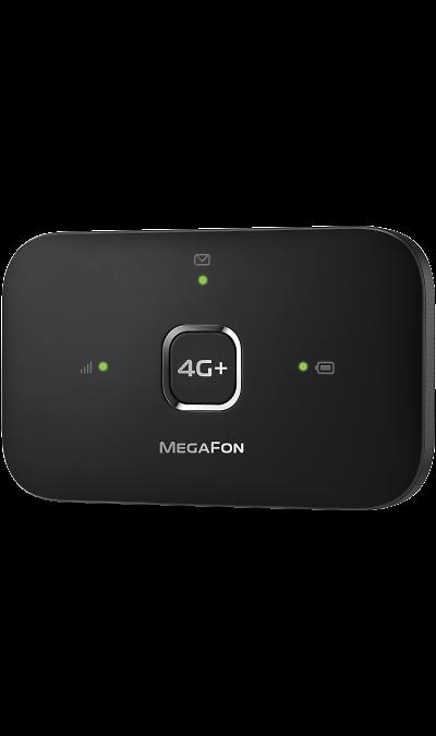 МегаФон 4G+ (LTE)/Wi-Fi мобильный роутер MR150-3 (черный) мегафон 4g lte wi fi мобильный роутер mr150 5 черный