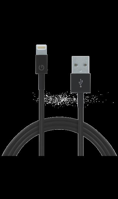 Кабель Energea Lightning Sync Max (черный)Кабели и адаптеры<br>Кабель зарядки и передачи данных для мобильных устройств<br><br>Colour: Черный