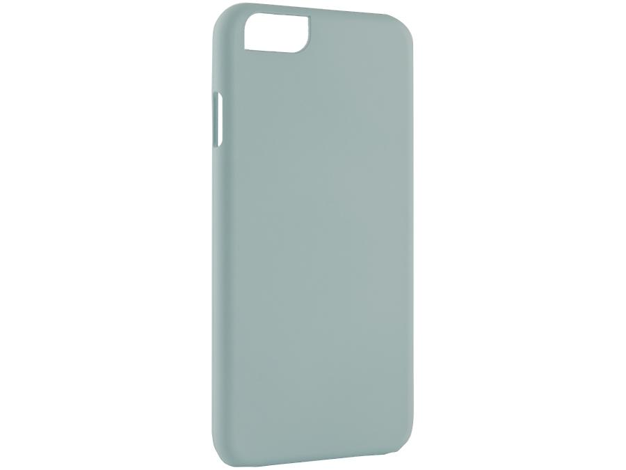 Чехол-крышка iCover для iPhone 6, пластик, голубой