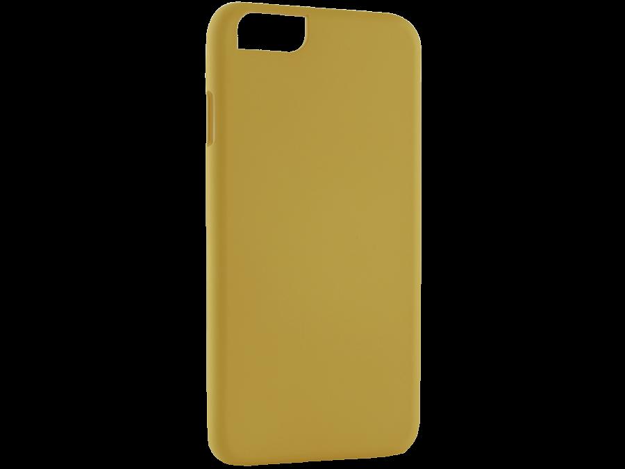 Чехол-крышка iCover для Apple iPhone 6, пластик, желтый