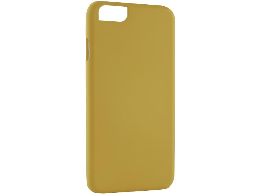 Чехол-крышка iCover для iPhone 6, пластик, желтый
