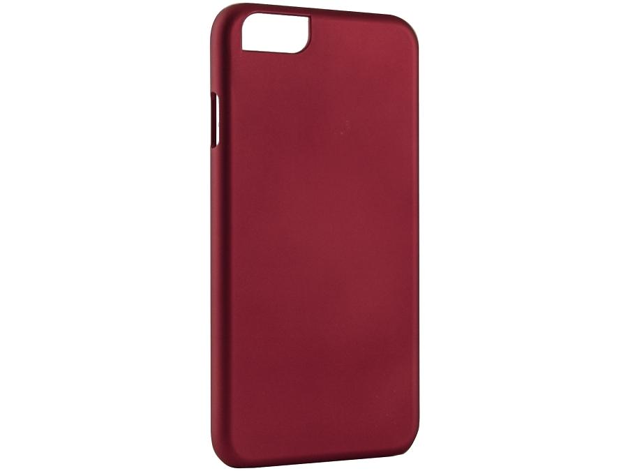 Чехол-крышка iCover для iPhone 6, пластик, красный