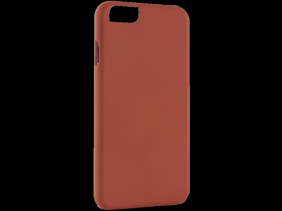 Чехол-крышка iCover для Apple iPhone 6, пластик, оранжевый
