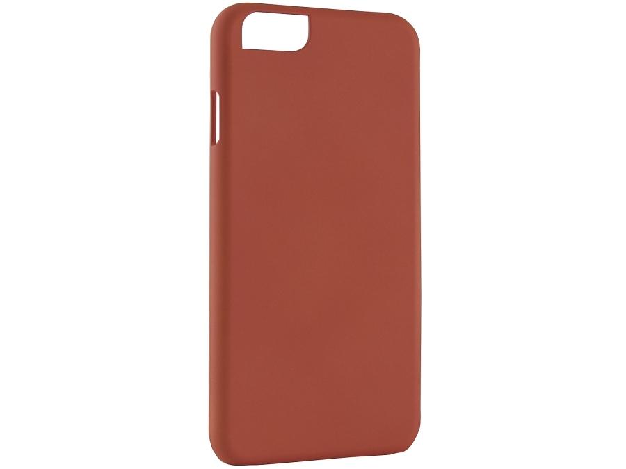 Чехол-крышка iCover для iPhone 6, пластик, оранжевый