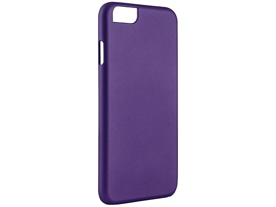 Чехол-крышка iCover для iPhone 6, пластик, пурпурный