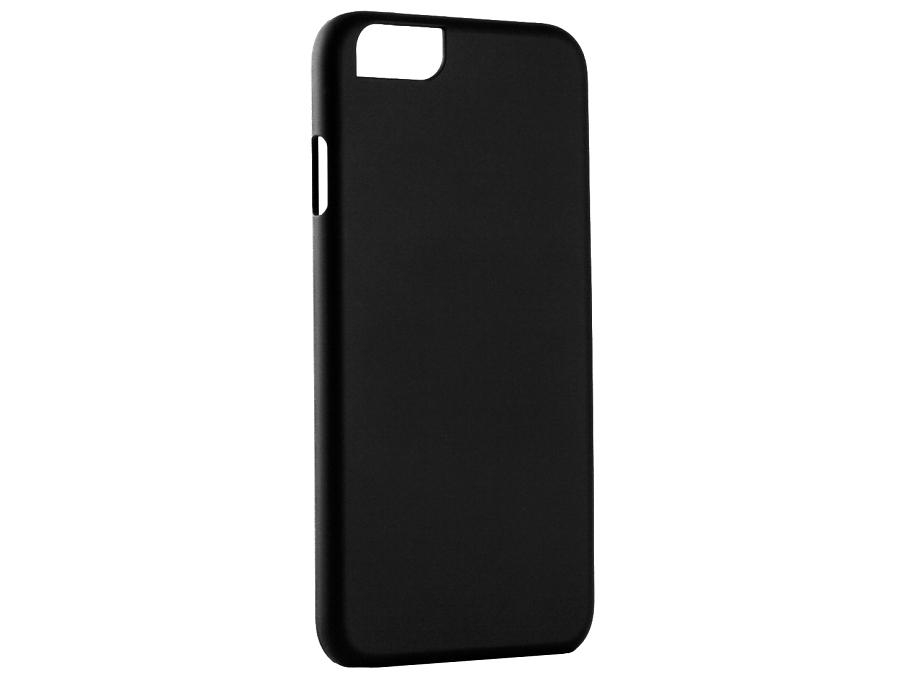 Чехол-крышка iCover для iPhone 6, пластик, черный