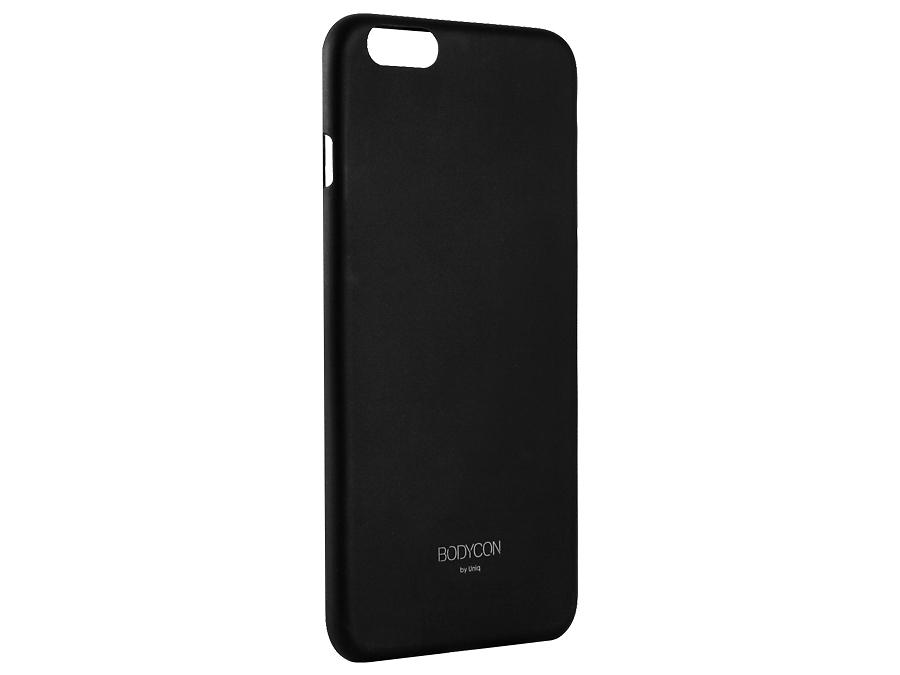 Чехол-крышка Uniq Bodycon для iPhone 6 Plus, силикон, черный