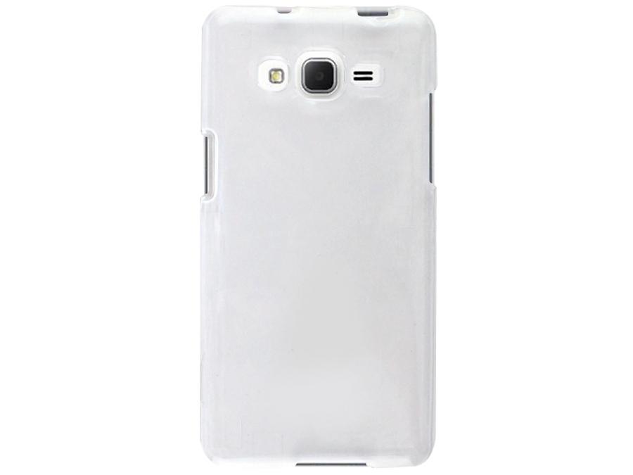 Чехол-крышка Uniq Bodycon для Samsung Grand Prime, силикон, прозрачный