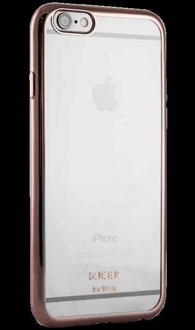 Бампер Uniq Glacier Glitz для Apple iPhone 6, силикон, розовыйЧехлы и сумочки<br>Бампер Uniq  поможет не только защитить ваш iPhone 6 от повреждений, но и сделает обращение с ним более удобным, а сам аппарат будет выглядеть еще более элегантным.<br><br>Colour: Розовый