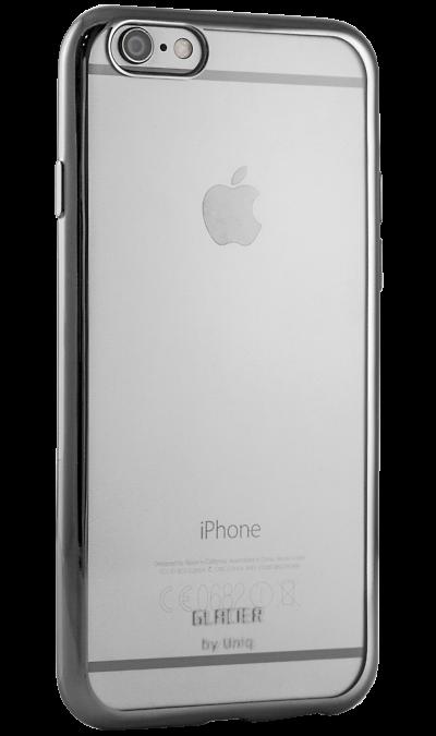 Бампер Uniq Glacier Glitz для Apple iPhone 6, силикон, серыйЧехлы и сумочки<br>Бампер Uniq  поможет не только защитить ваш iPhone 6 от повреждений, но и сделает обращение с ним более удобным, а сам аппарат будет выглядеть еще более элегантным.<br><br>Colour: Серый