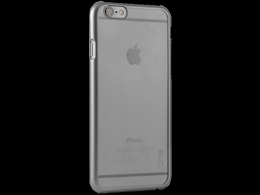 Чехол-крышка Uniq Glacier для Apple iPhone 6, пластик, серый