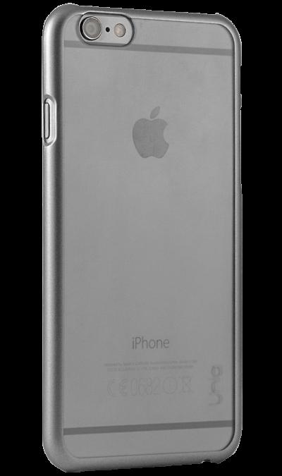 Чехол-крышка Uniq Glacier для Apple iPhone 6, пластик, серыйЧехлы и сумочки<br>Чехол Uniq  поможет не только защитить ваш iPhone 6 от повреждений, но и сделает обращение с ним более удобным, а сам аппарат будет выглядеть еще более элегантным.<br><br>Colour: Серый