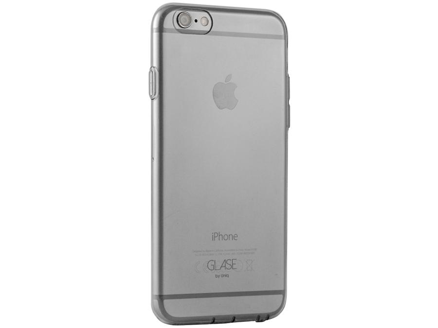 Чехол-крышка Uniq Glase для Apple iPhone 6, силикон, матовая