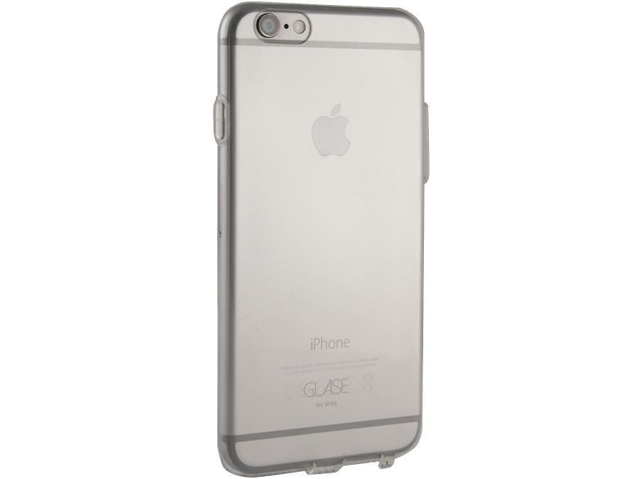 Чехол-крышка Uniq Glase для Apple iPhone 6, силикон, прозрачная