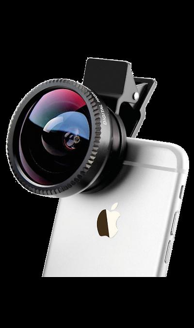 Линза для объектива Ginzzu GF-333BLУстройства для селфи<br>Линзы для смартфонов и планшетов.<br><br>Набор трех объективов-насадок: Макро, Широкоугольный и Рыбий глаз;<br>Универсальная клипса для крепления на смартфон или планшет;<br>Мешочек для хранения и переноски.<br>