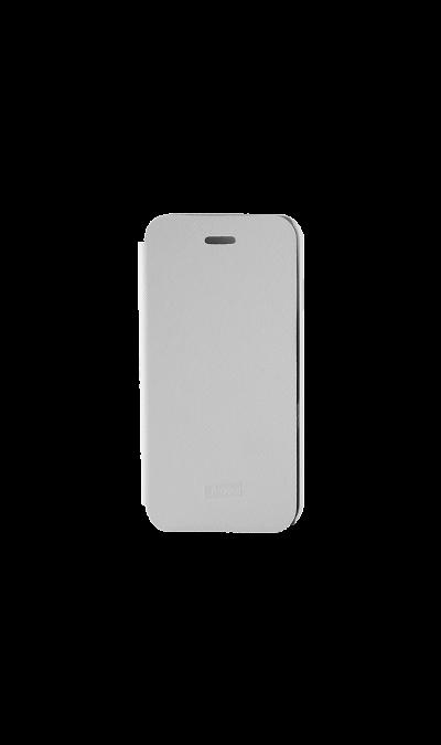 Чехол-книжка iCover Carbio для Apple iPhone 6, кожзам / пластик, белый