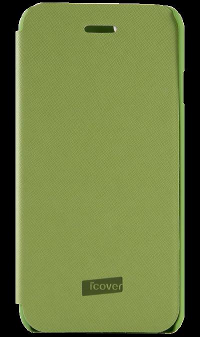 Чехол-книжка iCover Carbio для Apple iPhone 6, кожзам / пластик, зеленыйЧехлы и сумочки<br>Чехол-книжка для iPhone 6 - придаст индивидуальность вашему телефону!<br><br>Colour: Зеленый